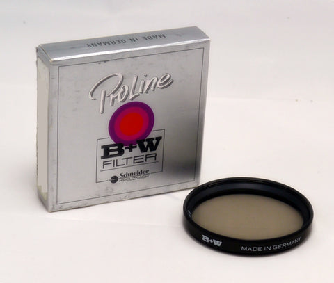 B+W 49mm 0.3 ND 101 Filter - (NON F-PRO) - Brass Ring - MPN: 65-072658-OS
