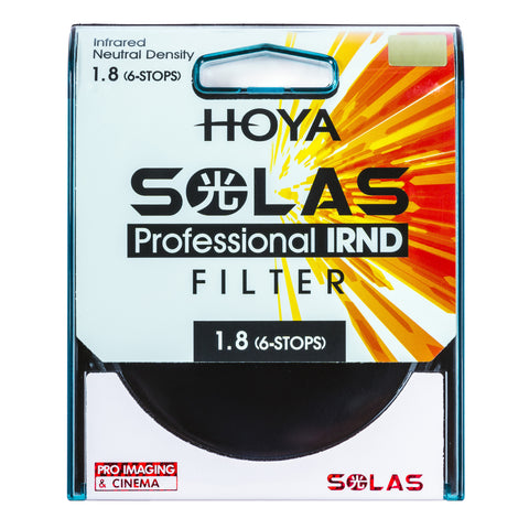 HOYA 46mm SOLAS ND-64 (1.8) 6 Stop IRND Neutral Density Filter