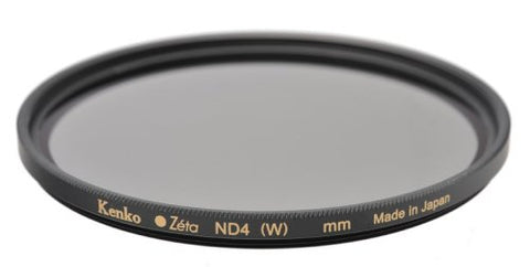 Kenko - Tokina Zeta 58mm Neutral Density ND-4 (0.6) - ZR Super MC - KZ-58ND4