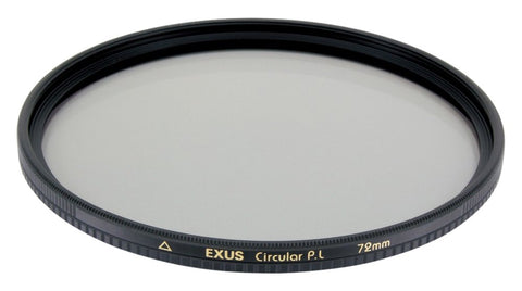 Marumi 55mm EXUS Circular Polarizer Filter - Anti-Static & Stain-Resistant