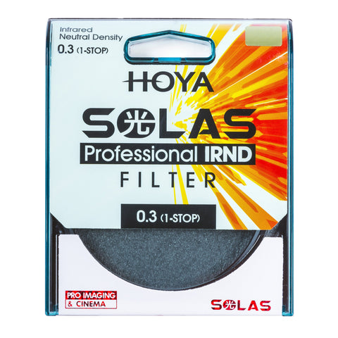 HOYA SOLAS ND-2 (0.3) 1 Stop IRND Neutral Density Filter