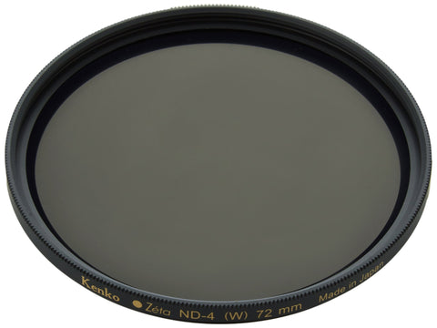 Kenko - Tokina Zeta 72mm Neutral Density ND-4 (0.6) - ZR Super MC - KZ-72ND4