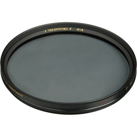 B+W 52mm Circular Polarizer SC Filter - Schott Glass - Brass Ring - 65-062156