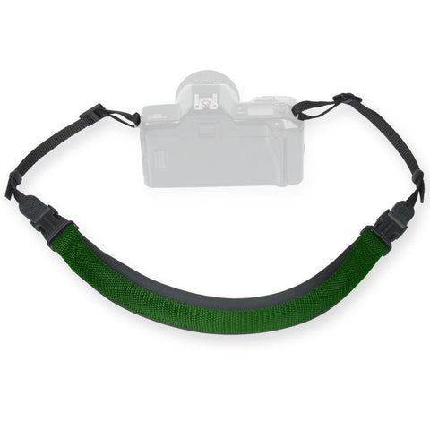 OP/TECH USA ENVY 3/8' CAMERA STRAP - FOREST (3/8' Webbing Connectors) MPN: 3819332
