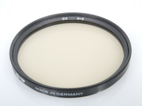B+W 67mm E 81B Filter Warming Filter (Non F-Pro) - MPN: 65-030241-OS