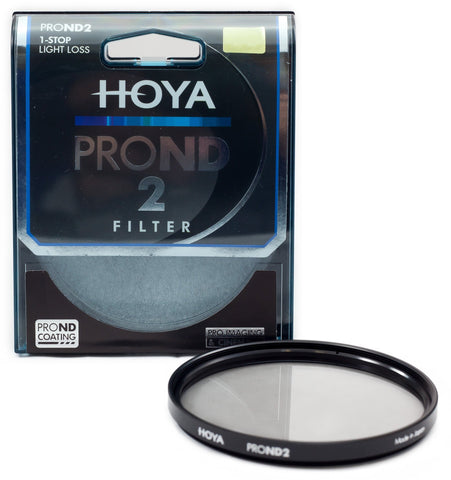 Hoya PROND 49mm ND-2 (0.3) 1 Stop ACCU-ND Neutral Density Filter XPD-49ND2