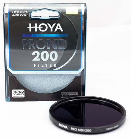 Hoya PROND 55mm ND200 (2.4) 7.67 Stop ACCU-ND Neutral Density Filter XPD-55ND200