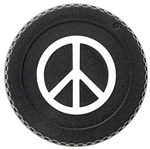 BlackRapid LensBling Twist-On Camera Body Cap - CANON (Peace Sign) MPN:RAL6C-1A1