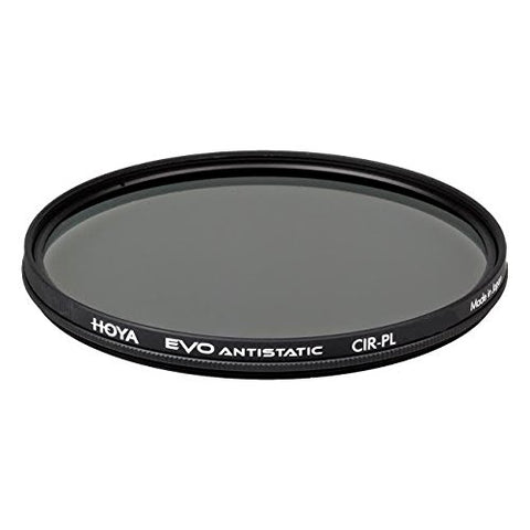 Hoya EVO ANTISTATIC 46mm Circular Polarizer - 18-layer (SHMC) Multi-Coating