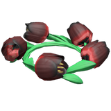 Dark Tulip Crown