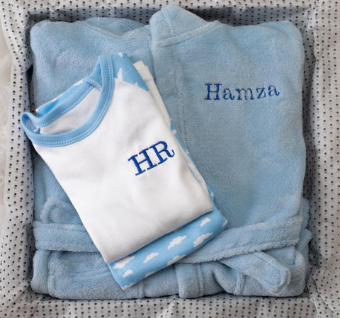 LUXURY 1ST BIRTHDAY PERSONALISED GIFT SET