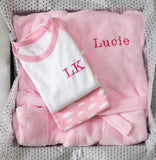 Luxury 1st Birthday Gifts - Pink Bed Time Gift Set