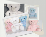personalised teddy bear for newborn