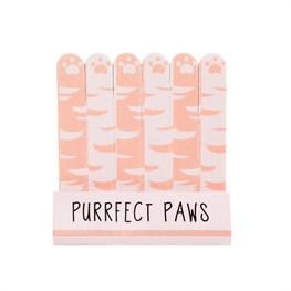 Sass & Belle Nail Files Mini (Cutie Cat Purrfect Paws) set of 6
