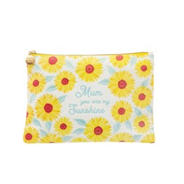 Sass & Belle Sunflower Mum Cotton Pouch