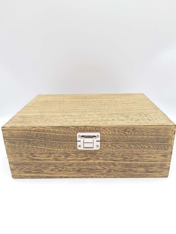 "Box Wooden (12"" Oak Effect)"