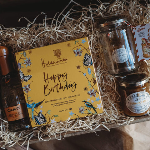 Custom Hamper - Birthday and Bubbles Hamper