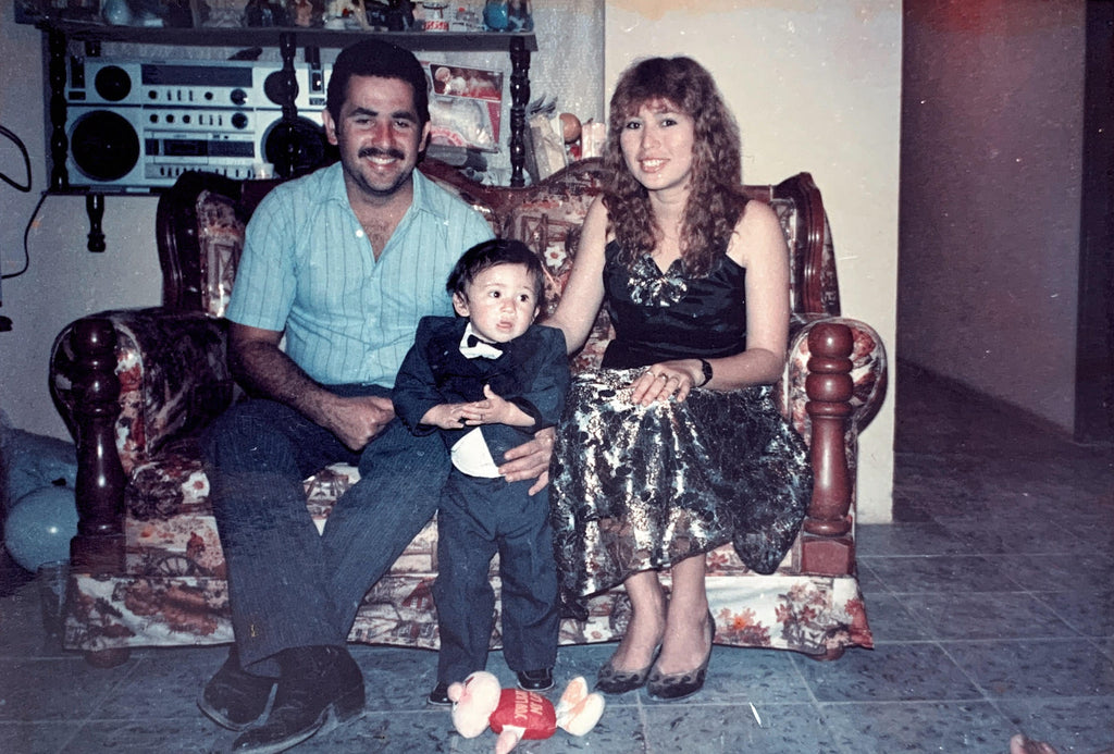 Arquimedes, Carmen and baby Marco