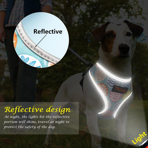 Reflective Perfect Fit Harness - Dog's Love Store