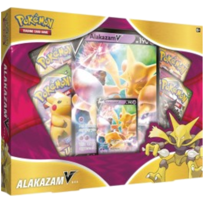 1x Alakhazam Collection Box  - Pokemon (LIVE BREAK)
