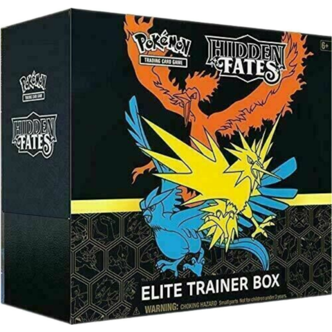 1x Hidden Fates Elite Trainer Box - Pokemon (LIVE BREAK)