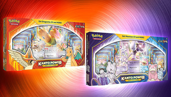 1x XY Dragonite Kanto Power Collections Box - Pokemon (LIVE BREAK)