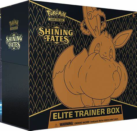 1x Shining Fates Elite Trainer Box - Pokemon (LIVE BREAK)