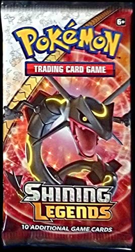 1x Shining Legends Booster Pack - Pokemon (LIVE BREAK)