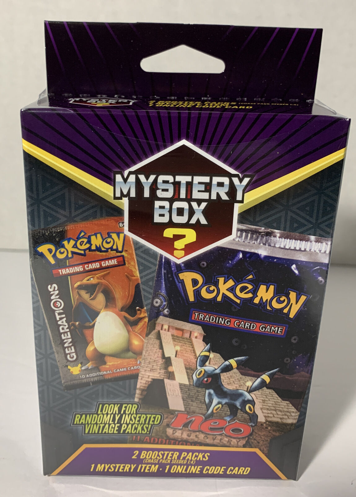 1x Mystery Hanger Box - Pokemon (LIVE BREAK)