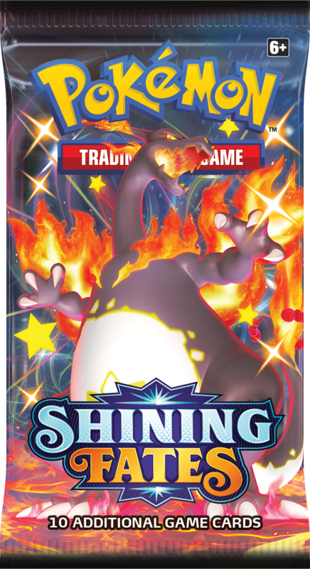 1x Shining Fates - Pokemon Booster Pack (LIVE BREAK) - MARCH STOCK!