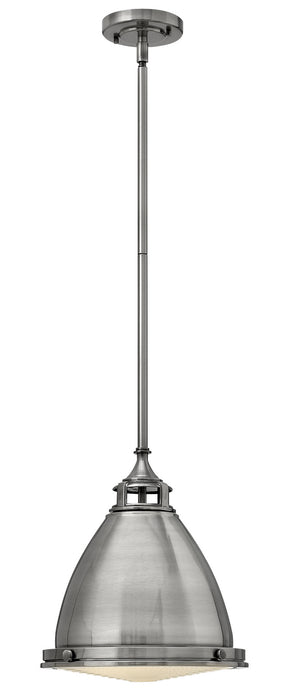 Hinkley - 3126PL - One Light Pendant - Amelia - Polished Antique Nickel