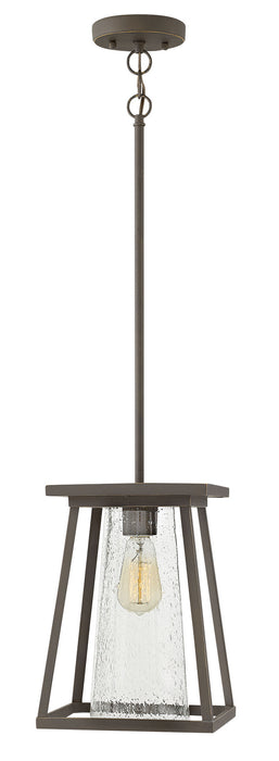 Hinkley - 2792OZ-CL - One Light Hanging Lantern - Burke - Oil Rubbed Bronze with Clear glass