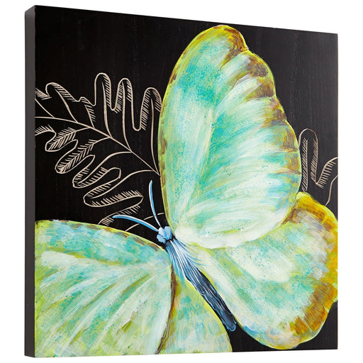 Cyan - 07507 - Wall Art - Papillon - Black/Blue