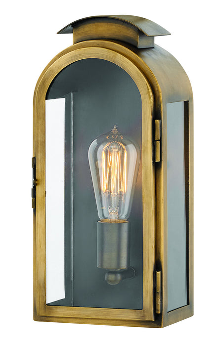 Hinkley - 2520LS - One Light Wall Mount - Rowley - Light Antique Brass