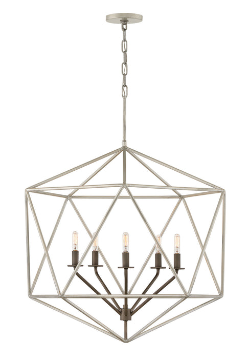 Hinkley - 3025GG - Five Light Chandelier - Astrid - Glacial