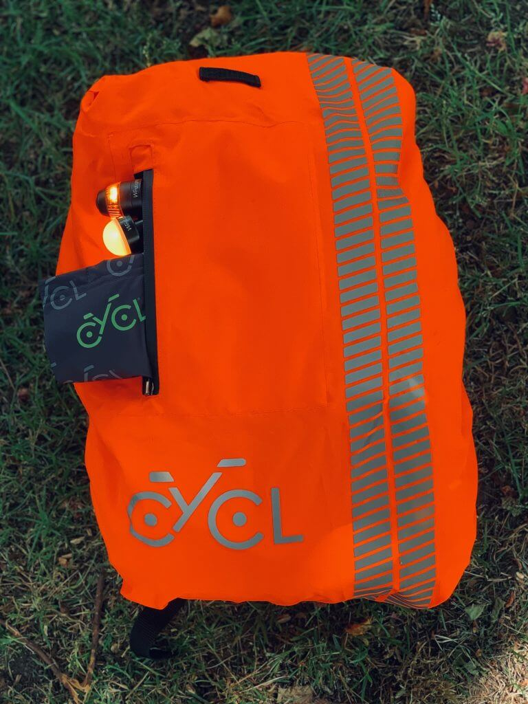 Backpack cover orange | BYCL