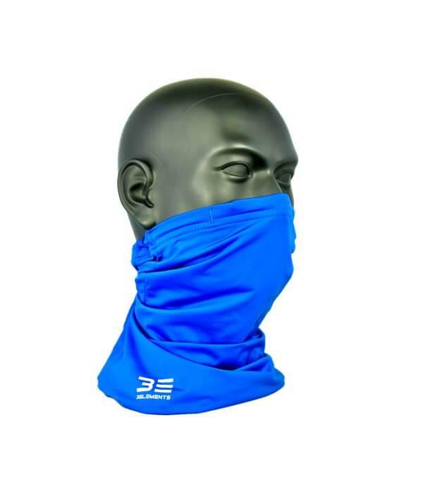 Three Elements Air Filtering Scarf Blue Side
