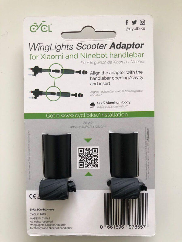 WingLights Adaptor for Ninebot Max G30 - CYCL