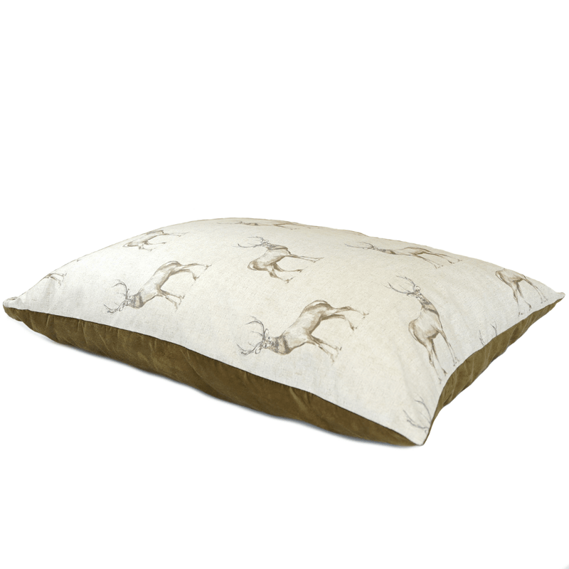 Bestvenn Pillow Bed - Stag Print