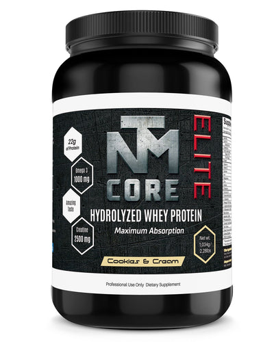 HydrolIzed Whey Protein Powder - Cookies and Creame