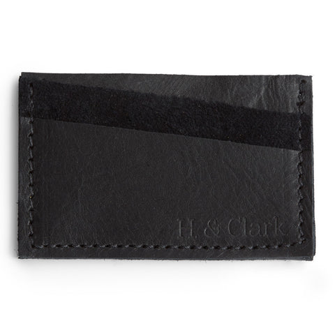 The Card Case - Black