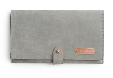 *NEW* The Fold Over - Soft Gray