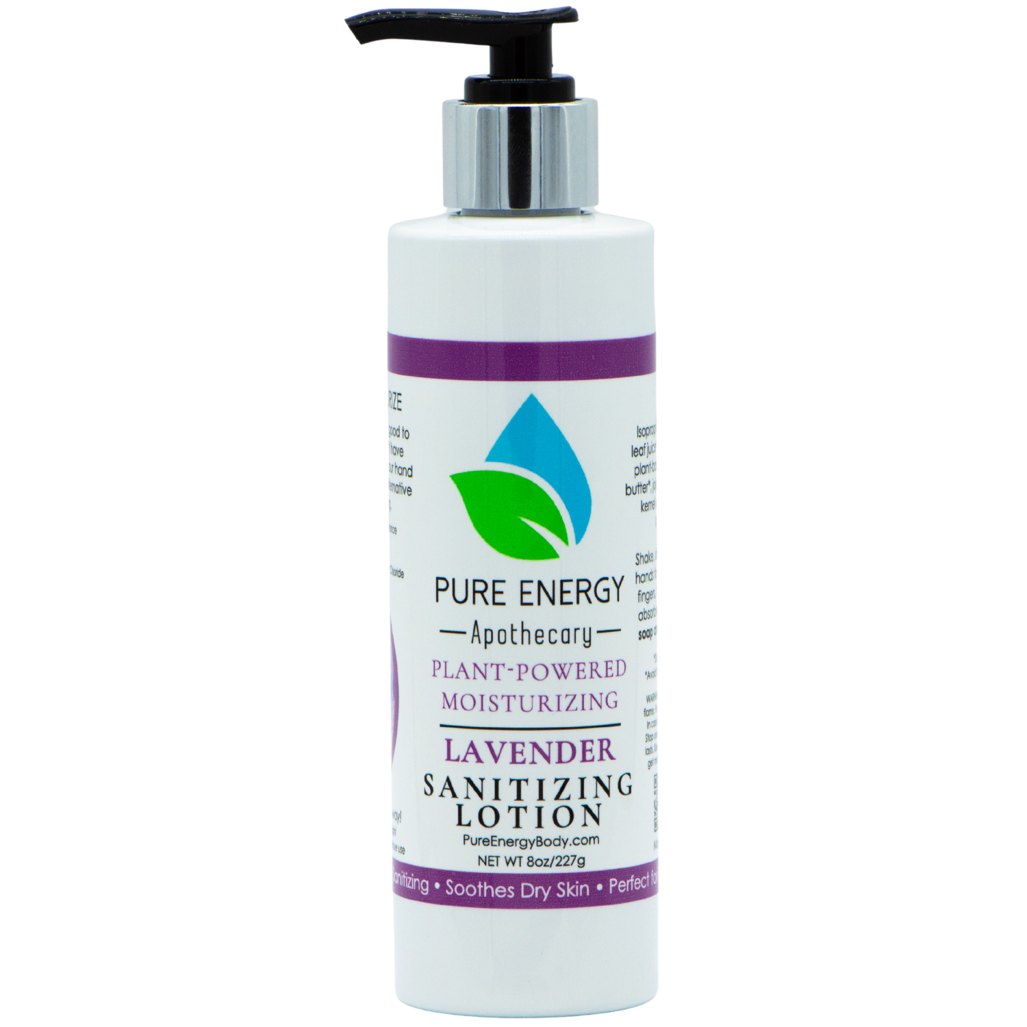 Sanitizing Hand Lotion - 8 oz (Lavender)