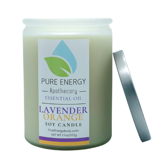Soy Candle (Lavender Orange)