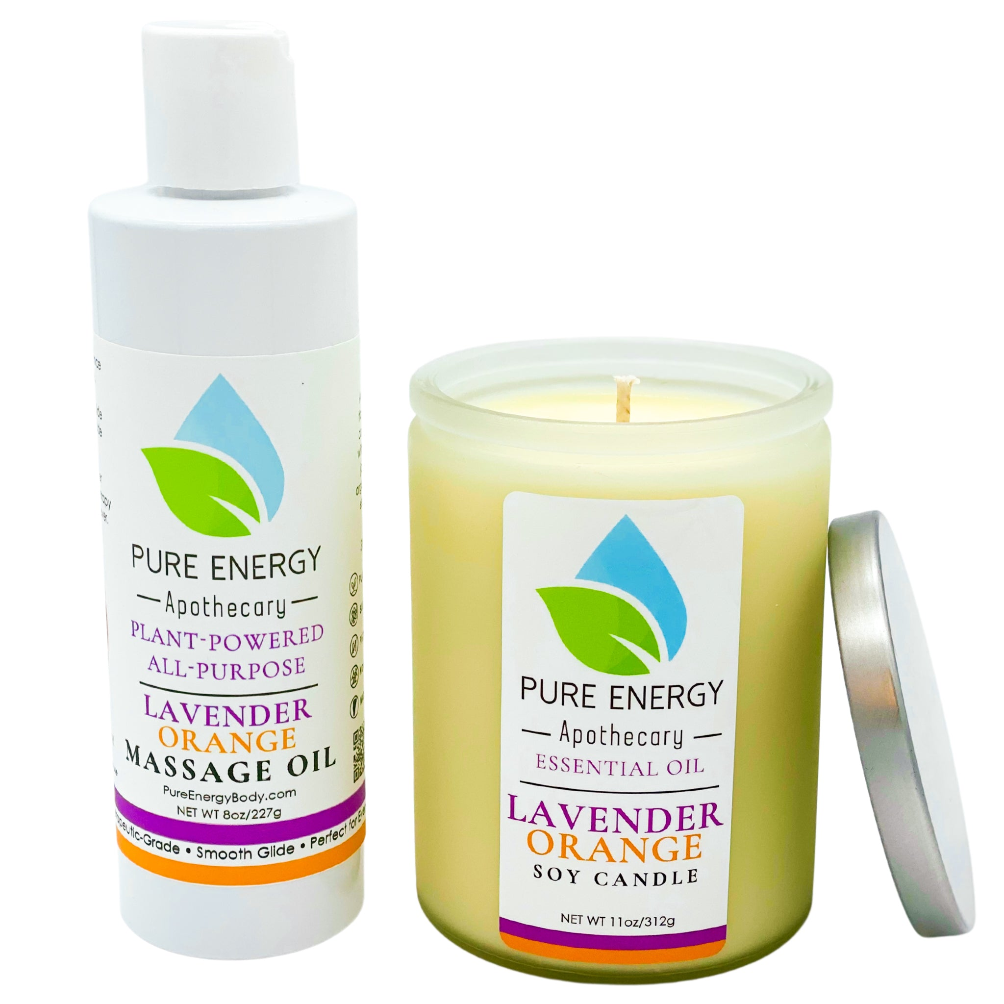 Relaxing Ritual Gift Set (Lavender Orange)