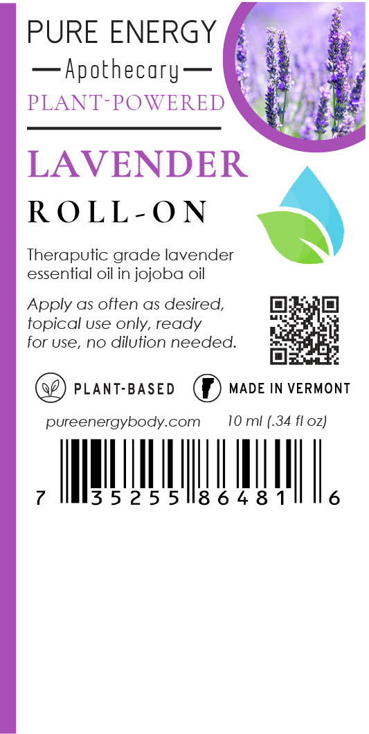 Aromatherapy Essential Oil Roll-On (Lavender)