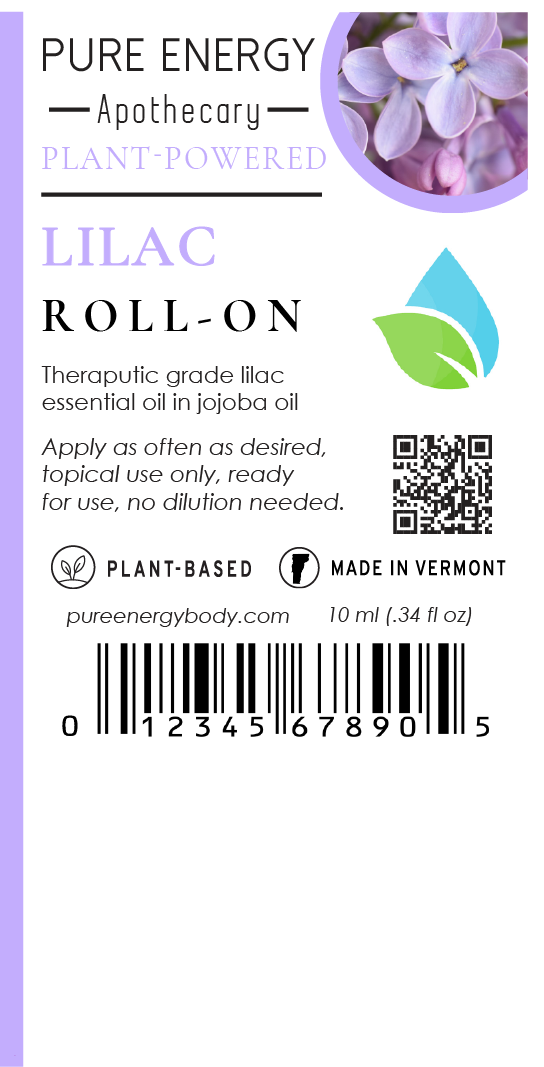Aromatherapy Roll-On (Lilac)