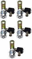 "Tubular Cam Locks 1-1/4"" - Non Retaining (Keyed Alike in this size but can not key the same as other sizes)"