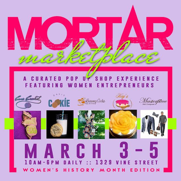Mortar Marketplace Event This Weekend