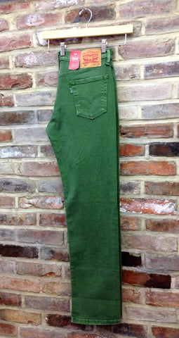 Levi's Green 514 Jeans